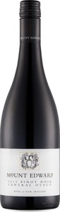 Mount Edward Pinot Noir 2013, Central Otago, South Island Bottle