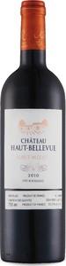 Château Haut Bellevue 2010, Ac Haut Médoc Bottle