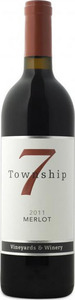 Township 7 Merlot 2009, VQA Okanagan Valley Bottle