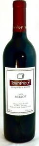 Township 7 Merlot 2008 Bottle