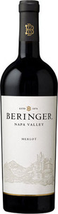 Beringer Merlot 2014, Napa Valley Bottle