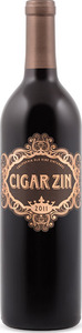 Cigar Zin Old Vine Zinfandel 2014, California Bottle