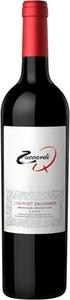 Zuccardi Q Cabernet Sauvignon 2013, La Consulta/Tupungato Vineyards, Mendoza Bottle