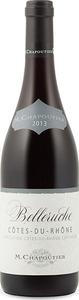 M. Chapoutier Belleruche Côtes Du Rhône 2014, Ac Bottle