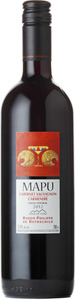 Mapu Cabernet Sauvignon Carmenere 2014, Central Valley Bottle