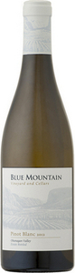 Blue Mountain Pinot Blanc 2015, Okanagan Valley Bottle