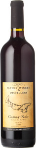 Matos Winery & Distillery Gamay Noir Bottle
