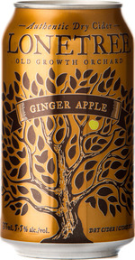 Lonetree Ginger Apple Dry Cider, Okanagan Valley (355ml) Bottle