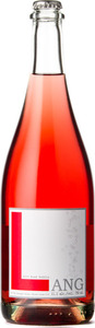 Lang Rosé Bubble 2015, Okanagan Valley Bottle