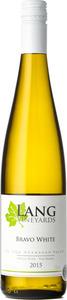 Lang Bravo White 2015, BC VQA Okanagan Valley Bottle