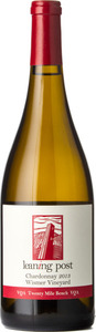 Leaning Post Chardonnay Wismer 2013, VQA Twenty Mile Bench Bottle