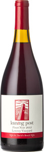 Leaning Post Lowrey Pinot Noir 2012, VQA St. David's Bench Bottle