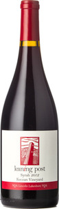 Leaning Post Syrah Keczan Vineyard 2012, VQA Lincoln Lakeshore Bottle