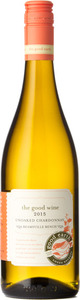 The Good Earth Unoaked Chardonnay 2015, VQA Beamsville Bench Bottle