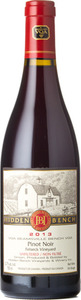 Hidden Bench Felseck Vineyard Pinot Noir 2013, VQA Beamsville Bench Bottle