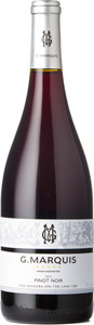 G. Marquis The Silver Line Pinot Noir 2015, VQA Niagara On The Lake Bottle
