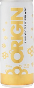 Origin Aromatic Sparkling Wine,  3 X 250ml Can VQA Ontario Bottle