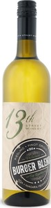 13th Street Burger Blend Riesling Pinot Grigio Bottle