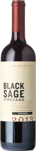 Black Sage Zinfandel 2013, BC VQA Okanagan Valley Bottle