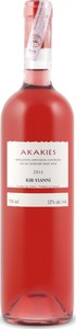 Kir Yianni Akakies Rosé 2015, Ac Amyndeon Bottle