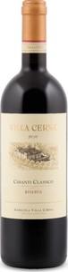 Villa Cerna Chianti Classico Riserva 2012, Docg Bottle