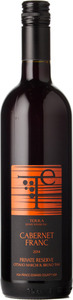 Terra Estate Cabernet Franc Private Reserve Ottavio Marchi & Bruno Tam 2014, Prince Edward County Bottle