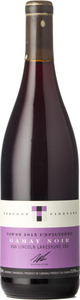 Tawse Winery Unfiltered Gamay Noir 2015, VQA Lincoln Lakeshore Bottle