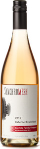 Synchromesh Cabernet Franc Rosé Cachola Family Vineyards 2015, Okanagan Valley Bottle