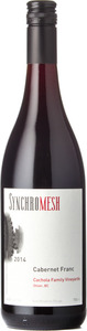 Synchromesh Wines Cabernet Franc Cachola Family Vineyards 2014, Okanagan Valley Bottle