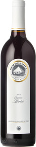 Summerhill Organic Merlot 2013, BC VQA Okanagan Valley Bottle
