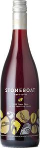Stoneboat Vineyards Pinot Noir 2013, Okanagan Valley Bottle