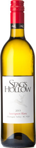 Stag's Hollow Sauvignon Blanc 2015, Okanagan Valley Bottle