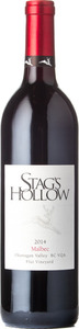 Stag's Hollow Malbec Plut Vineyard 2014, Okanagan Valley Bottle