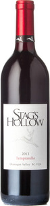 Stag's Hollow Winery Tempranillo 2013, BC VQA Okanagan Valley Bottle