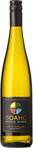 Soahc Estate Wines Riesling 2015, VQA Okanagan Valley Bottle