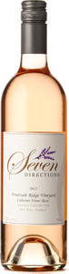 Seven Directions Fruitvale Ridge Vineyard Cabernet Franc Rosé 2015, Osoyoos, Okanagan Valley, Bc Bottle