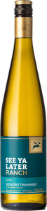 See Ya Later Ranch Gewurztraminer 2015, BC VQA Okanagan Valley Bottle