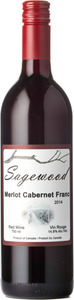 Sagewood Winery Merlot / Cabernet Franc 2014 Bottle