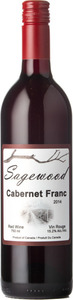 Sagewood Winery Cabernet Franc 2014 Bottle