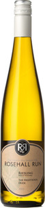 Rosehall Riesling Run The Righteous Dude 2015, VQA Twenty Mile Bench, Niagara Peninsula Bottle