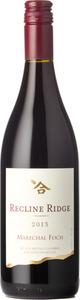 Recline Ridge Winery Marechal Foch 2013, BC VQA Okanagan Valley Bottle