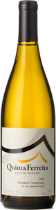 Quinta Ferreira Unoaked Chardonnay 2014, BC VQA Okanagan Valley Bottle