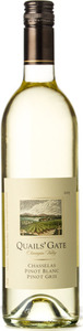Quails' Gate Chasselas / Pinot Blanc / Pinot Gris 2015, BC VQA Okanagan Valley Bottle