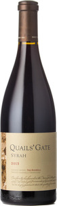 Quails' Gate The Boswell Syrah 2013, Okanagan Valley Bottle