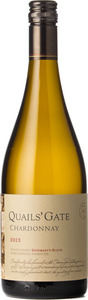 Quails' Gate Rosemary's Block Chardonnay 2013, BC VQA Okanagan Valley Bottle