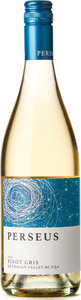 Perseus Pinot Gris 2015, BC VQA Okanagan Valley Bottle