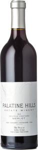 Palatine Hills Neufeld Vineyard Merlot 2012, Niagara Peninsula Bottle