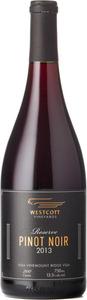 Westcott Reserve Pinot Noir 2013, VQA Vinemount Ridge Bottle