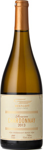 Westcott Vineyards Reserve Chardonnay 2013, VQA Vinemount Ridge Bottle