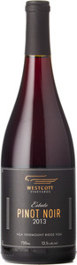 Westcott Estate Pinot Noir 2013, VQA Vinemount Ridge Bottle
